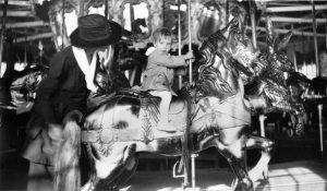 53148_ca_1940_Small_Child_on_Horse_Forest_Park_Queens_lg