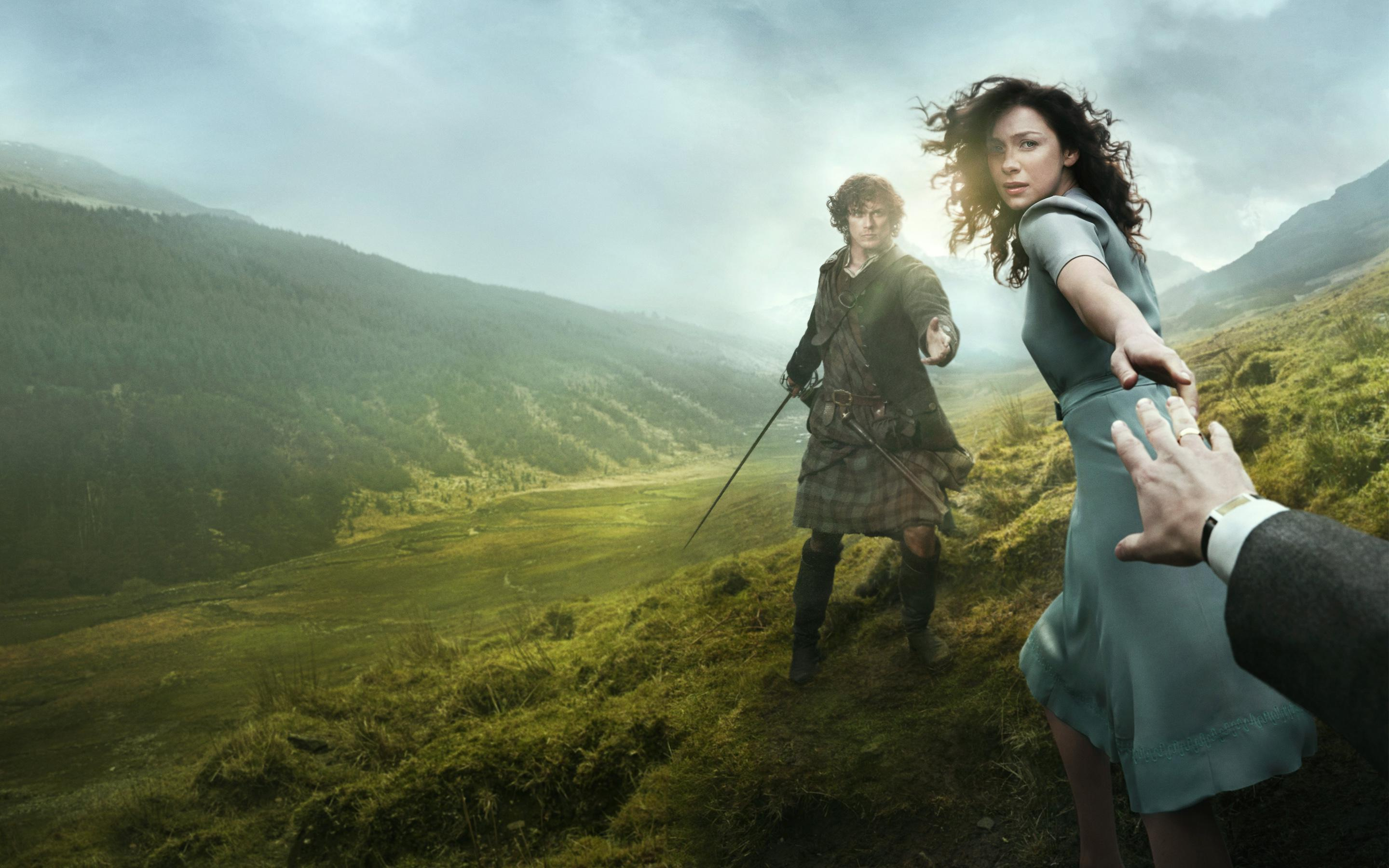 outlander, tvseries, scotland, highlands