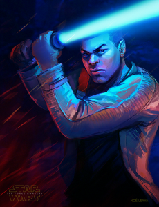 star_wars_force_awakens_finn_fan_art_by_noe_leyva-d9kjzsb