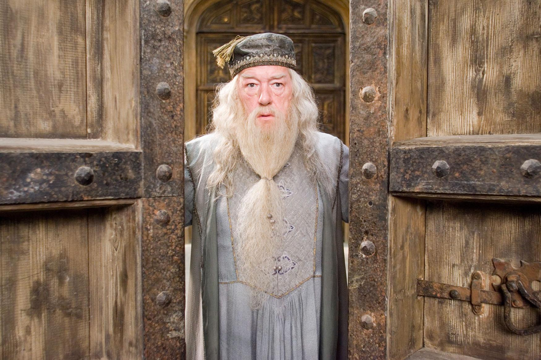 """MICHAEL GAMBON as Albus Dumbledore in Warner Bros. Pictures' fantasy """"Harry Potter and the Order of the Phoenix.""""  PHOTOGRAPHS TO BE USED SOLELY FOR ADVERTISING, PROMOTION, PUBLICITY OR REVIEWS OF THIS SPECIFIC MOTION PICTURE AND TO REMAIN THE PROPERTY OF THE STUDIO. NOT FOR SALE OR REDISTRIBUTION"""