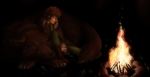 rickon_and_shaggy_by_miko851-d5qu4pn