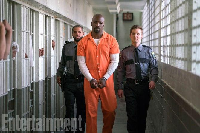 The Defenders (2017) Mike Colter as Luke Cage. .Season 1, Episode 1