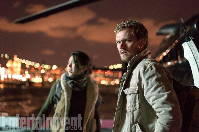 The Defenders (2017) From left to right, TK, and Finn Jones as Iron Fist. Season 1, Episode 1