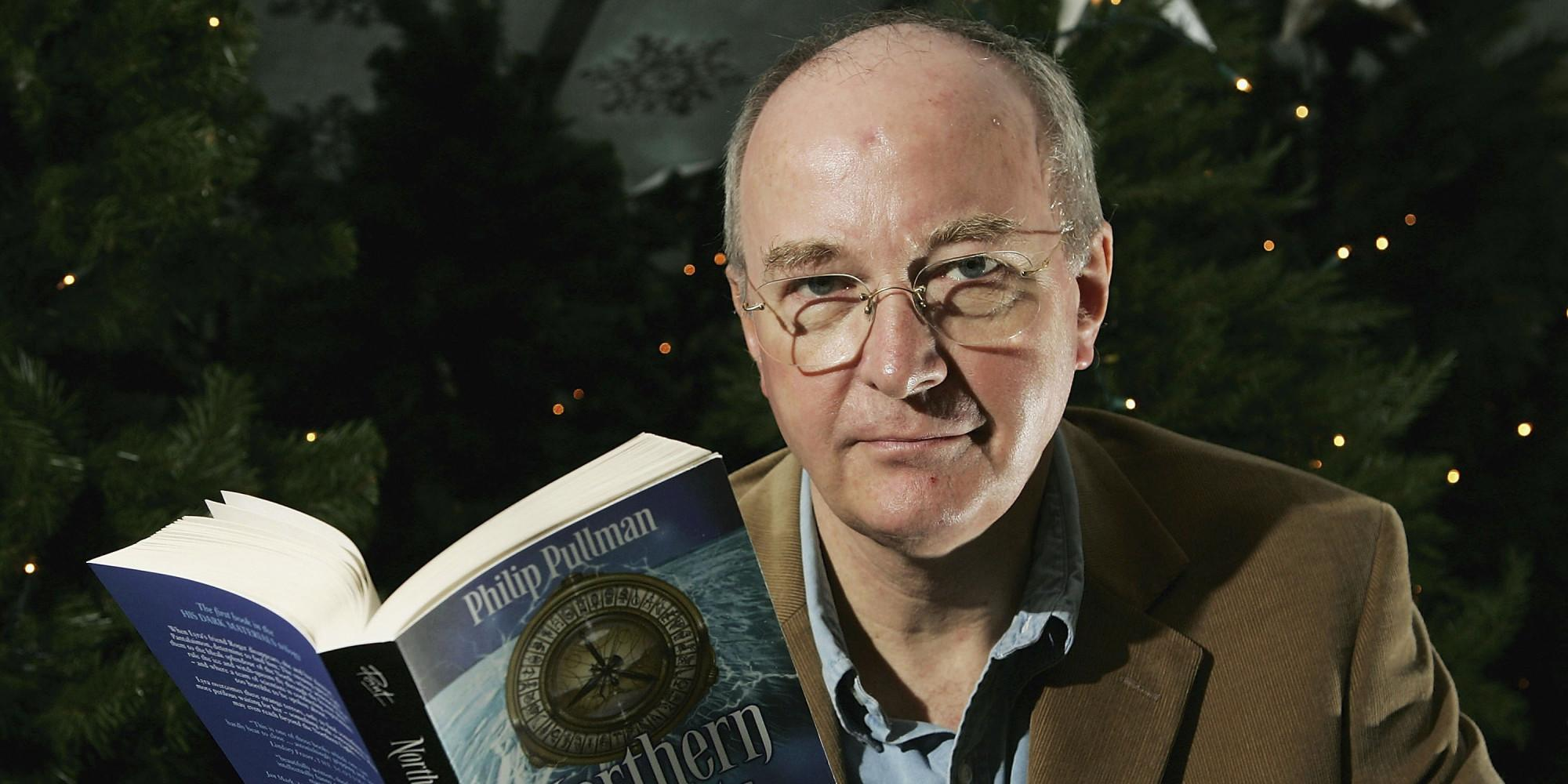 "LONDON - DECEMBER 17: Author Philip Pullman unveils his 'Find Your Daemon' Christmas trail and exhibition at London Zoo on December 17, 2004 in London. The exhibition is based on ""His Dark Materials"" trilogy of books, helps visitors to the zoo find their own daemon. (Photo by MJ Kim/Getty Images)"